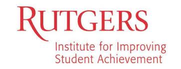 rutgers institute for improving student achievement
